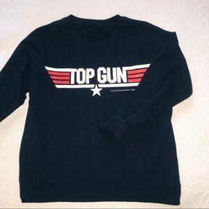 Tops - NWOT Top gun marvel sweatshirt